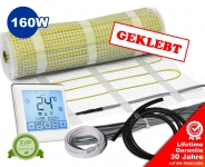 Premium Heizmatten Set NZ-160 touch - geklebt