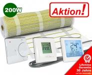 AKTION - Elektrische Fußbodenheizung 200 W/m²