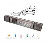 Heat & Beat - Heizstrahler mit Lautsprechern