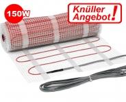 Heizmatte Einader 150 W/m² - Knüller 4,4 m² | ohne