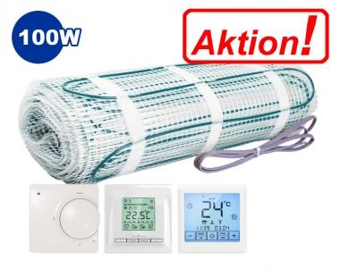 AKTION - Elektrische Fußbodenheizung 100W/m² im Set