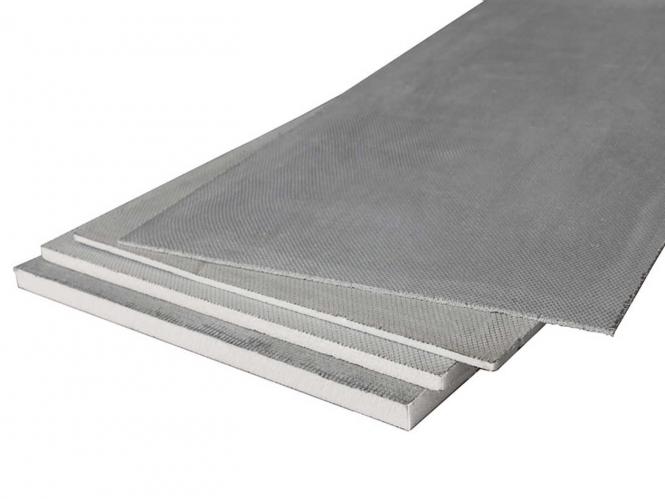 Bodendämmplatte für Fliesen- oder verklebte Bodenbeläge - 5 Stück