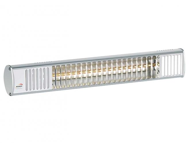 Burda TERM 2000 IP44 - ultra low glare - alu poliert