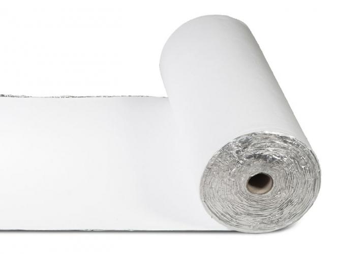 Aluminum Dämmfolie für Laminat / Klickböden von Warmset