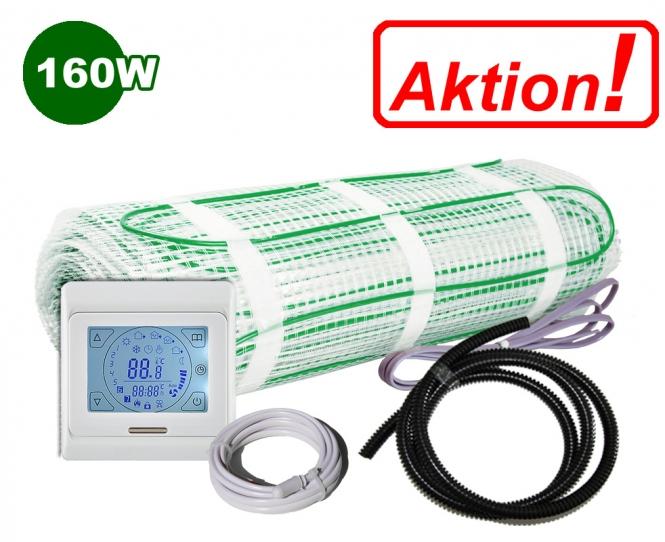 AKTION - Elektrische Fußbodenheizung 160 W/m²