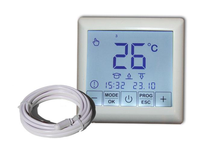 bodenheizung 24 thermostat bh 55 touch elektrische fu bodenheizungen elektrische. Black Bedroom Furniture Sets. Home Design Ideas