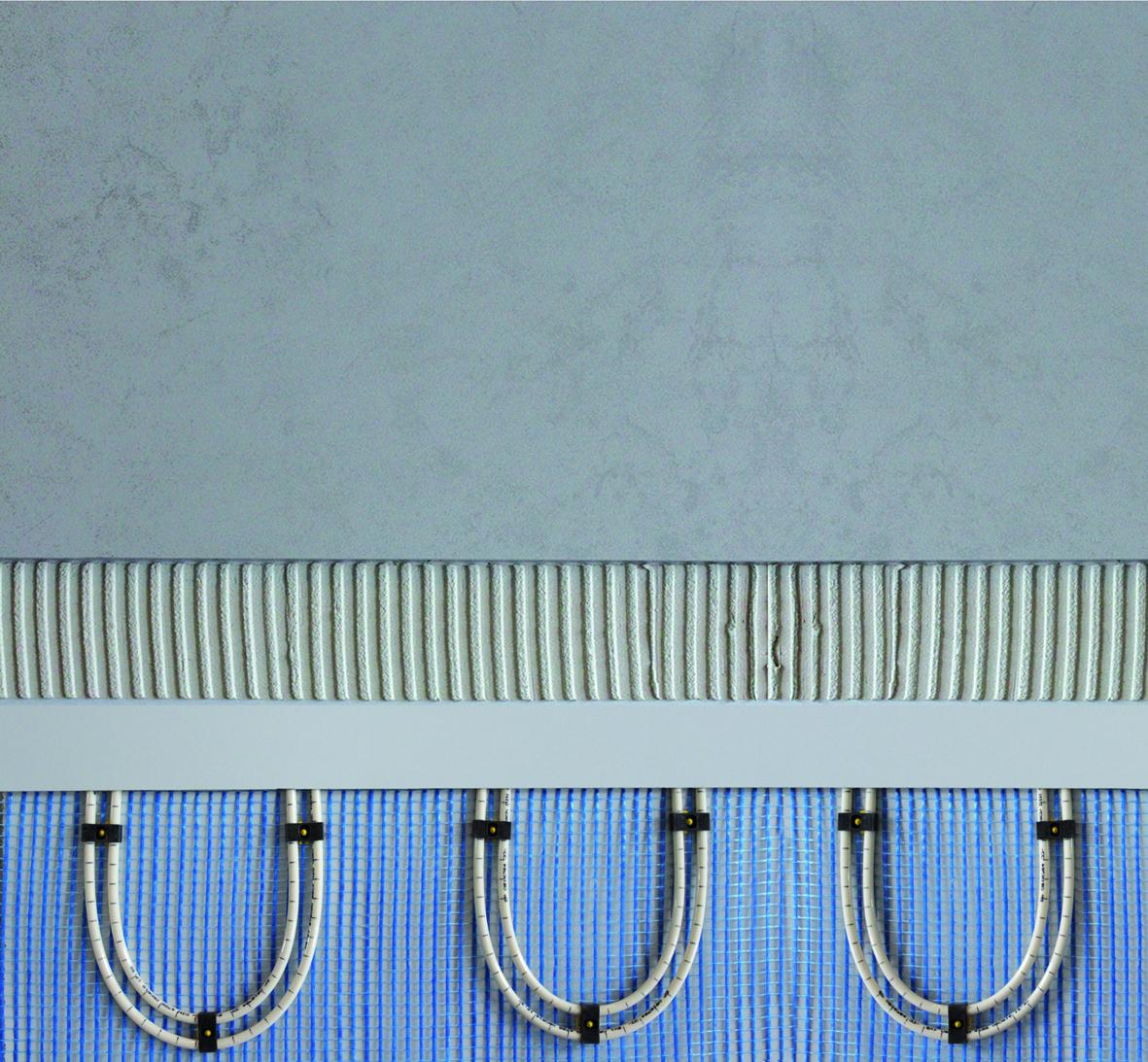warmwasser fussbodenheizung zum nachr sten f r kleine fl chen. Black Bedroom Furniture Sets. Home Design Ideas
